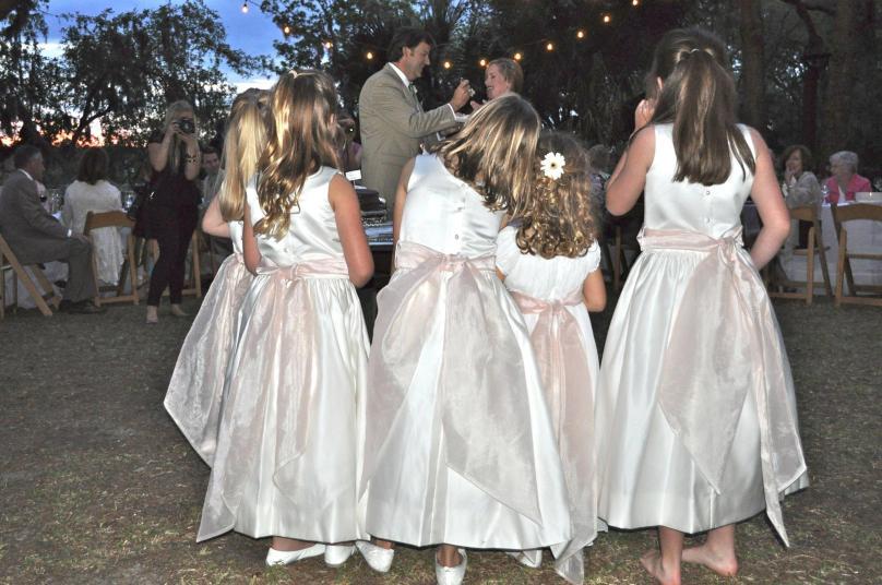 littlegirlsinweddingparty