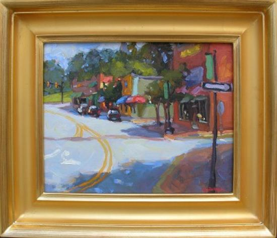 """College Avenue"" by Jennifer Smith Rogers"