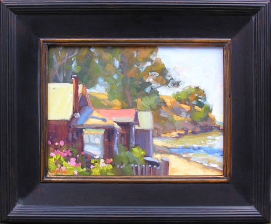 """""""China Camp Village"""" by Jennifer Smith Rogers"""