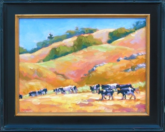 """Nicasio Cows"" by Jennifer Smith Rogers"