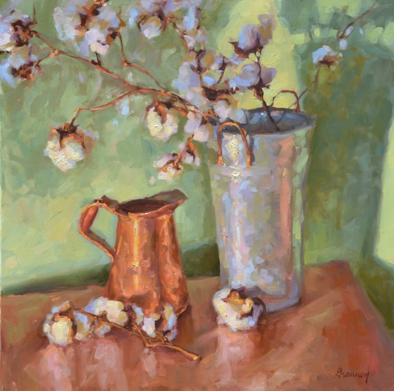 """Fresh Cotton"" by Shannon Smith Hughes (sold)"