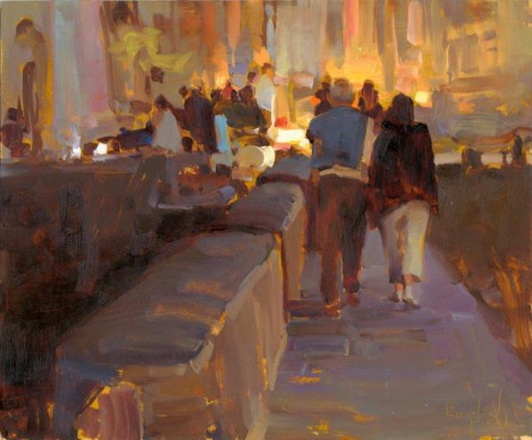 """Saturday Night in Honfleur"" by Kim English"