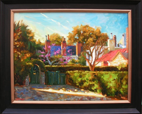 Charleston Chimneys by Jennifer Smith Rogers
