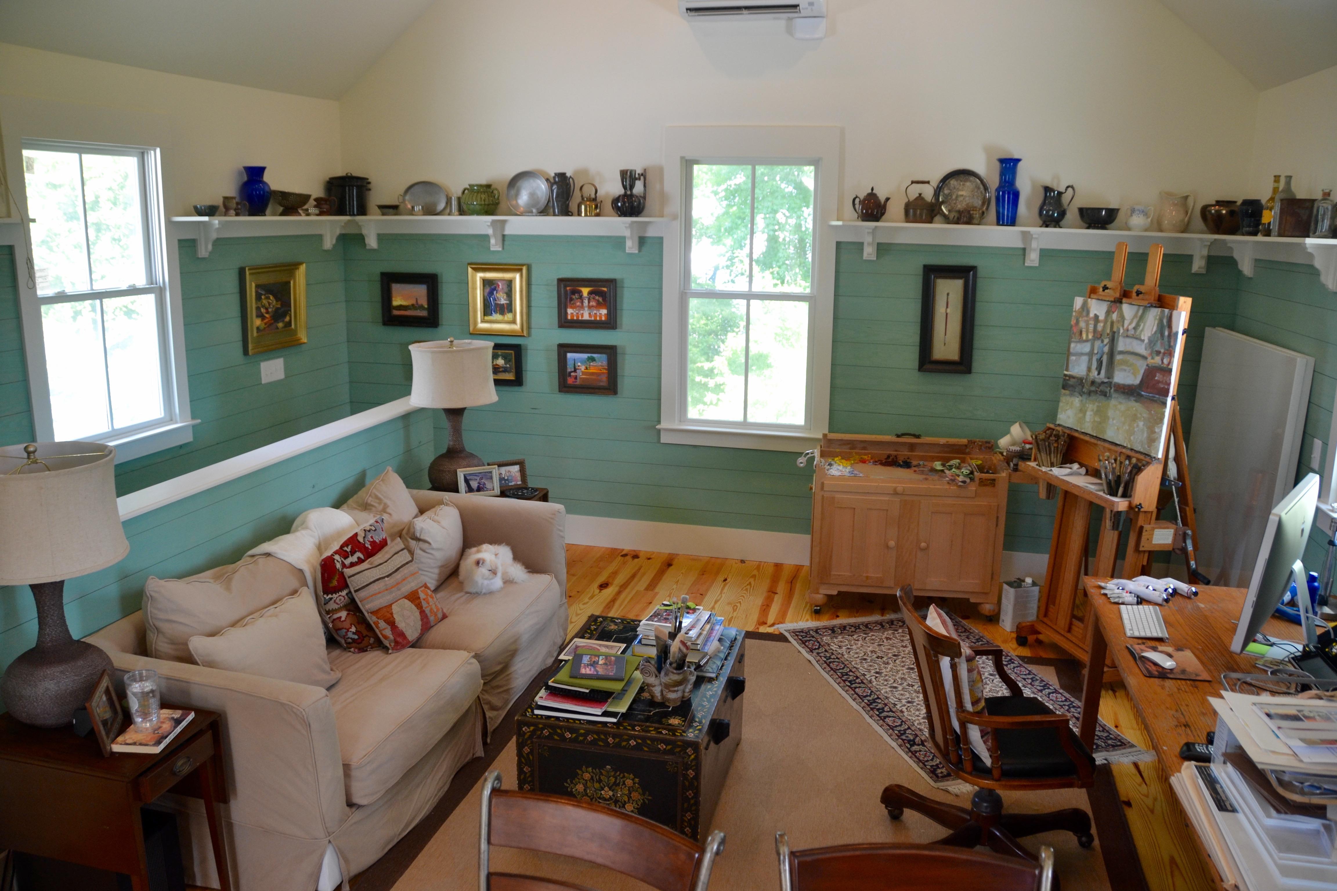 A Peek Into The Artists Studios Anglin Smith Fine Art Gallery